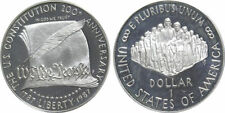 1987 US Mint 200th Anniversary Constitution Proof Silver $1 Coin