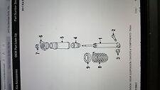 2014 KIA SPORTAGE KX-2 REAR SHOCK ABSORBER ASSEMBLY, PN:553112S411, RRP: $163.42