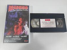 BRAINDEAD TU MADRE SE HA COMIDO A MI PERRO VHS TAPE ESPAÑA TERROR &