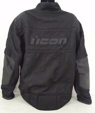 Icon Tarmac Stealth Motorcycle Jacket Black Size XXXXL