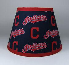 Cleveland Indians MLB Navy Red Fabric Lamp Shade Lampshade Handmade