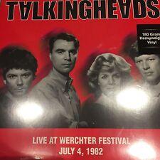 TALKING HEADS - LIVE AT WERCHTER FESTIVAL JULY 4, 1982- 180 GRAM NEW VINYL LP