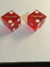 Peppermill Non-matching Numbers Red Casino Dice Las Vegas
