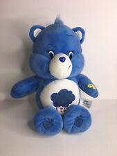 Care Bear Plush Blue Cloud Grumpy Bear 14 Inch Singing Dancing Musical 2015 EUC