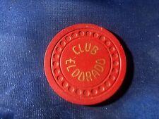 """New listing Rare""""$5""""Club El Dorado""""Au,Lv""""Pe rfect Hs""""Cr#N1546,Code 4;N""""$125-149,1948"""
