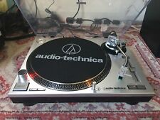 Audio Technica AT-LP120-USB Manual Direct-Drive Turntable - Silver