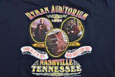 Vintage 90s Ryman Auditorium Nashville T-Shirt Men XL Black