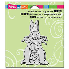 Stampendous Rubber Stamps Cling Hare Dracula Halloween Stamp