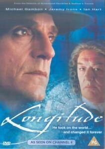 Longitude DVD Michael Gambon Jeremy Irons Charles Original UK Rele New Sealed R2