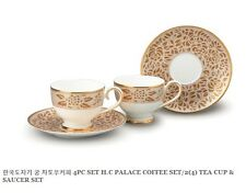 Hankook Vintage Fine Bone China Palace Coffee/Tea Set in*Gold* Collectors Choice
