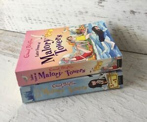 Enid Blyton  -  Malory Towers 2 x 3 books in1-the early years & the later years