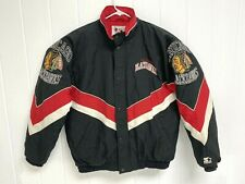 Rare Vintage Chicago Blackhawks Authentic Center Ice Collection by Starter