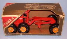 Tonka Orange Tractor Grader Pressed Steel Construction #2510 NIB Unused