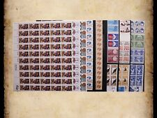 US Postage Stamps Face Value $42 + Unused Lot #48 Sheets Blocks Business