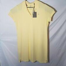 "NWT TOMMY BAHAMA New Paradise Polo Dress In Yellow ""Lemon Twist"" XL MSRP $88"