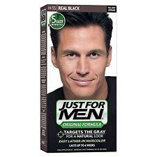 2 Pack - JUST FOR MEN Hair Color H-55 Real Black 1 Each