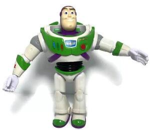 Disney Pixar Action Figure Toy Story Buzz Lightyear Mattel White 2017 Size 17cm