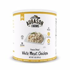 Augason Farms Freeze Dried Chicken Breast Chunks Emergency Survival Camp RV Food
