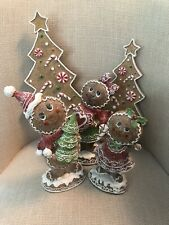 valerie parr hill christmas Trees and figures