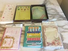 New 6 boxes Assorted Invitations Unopened