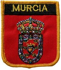 Murcia Spain Shield Embroidered Patch