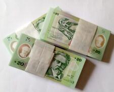 2020 URUGUAY 100 POLYMER  BANK NOTE - 20 PESOS ZORRILLA UNC