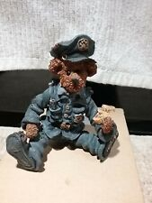 Boyds Shoebox Bears -Sergeant Bookum O'Reilly.To protect & serve - original box