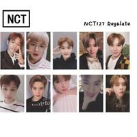 Kpop NCT NCT127 Regulate Photo Cards New Album Autograph Photocard Card 10pcs