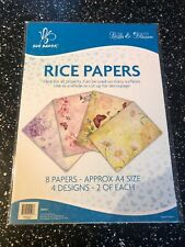 Sue Baker Birds & Blossom Rice Papers