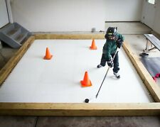 Skate Anytime - Synthetic Ice Rink for Hockey - Skateable Artificial Ice Tiles -
