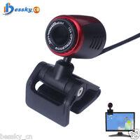 USB 2.0 HD Webcam Camera Web Cam Built-in Mic For Computer PC Laptop Desktop