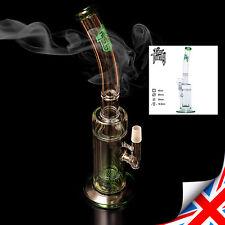 High Quality GLASS BONG M029, WATER PIPE - UNIQUE Design, Shisha, Smoking - 40cm