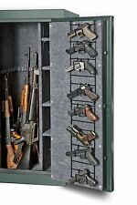 Rack Organizer Gun Safe 8 Pistol Hand Gun Narrow Full Door Storage Wire Hanger