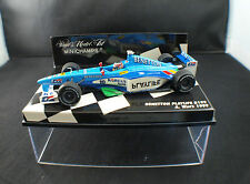 Minichamps Benetton Playlife B199 #10 A Wurz 1999 neuf 1/43 MIB