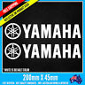 2 x YAMAHA LOGO Sticker EVO JDM DRIFT Vinyl Funny Dope Window Laptop Motorcycle