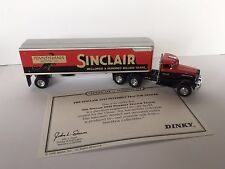 Matchbox Dinky DYM35270 1939 Peterbilt Tractor Trailer  Sinclair Oil