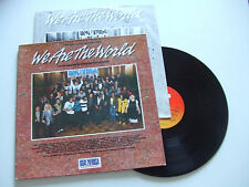 We Are The World  - Disco 33 Giri LP Compilation Vinile  EUROPA 1985 Pop-Rock