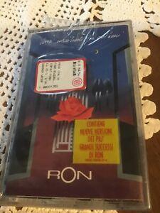 "RON "" VORREI INCONTRARTI FRA CENT'ANNI ""  MUSICASSETTA SIGILLATA ITALY'96"