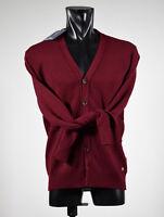 MOSCHINO Merino Lana Cardigan con Print blu wool cardigan Blue 04477