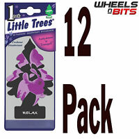 12x Magic Tree Little Trees Relax Scent Fragrance Car Van Home Air Freshener