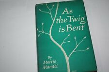 As the Twig Is Bent by Morris Mandel Jewish Inspiration