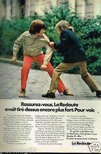 Publicité advertising 1974 Les Vetements pour enfants la Redoute catalogue