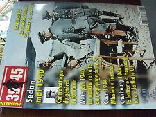µ? Revue 39/45 Heimdal n°191 Marechal Model Sedan Metz 1940 Caen Cherbourg 1940