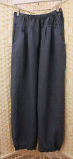 Unbranded Linen Harem Loose Fit Trousers for Women