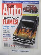 Scale Auto  Magazine   Oct. 2003   Fat '55 Delivery Wagon On Steroids