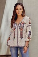Johnny Was Aaliah Peasant Blouse! NWT!!! TWO PATTERNS!!