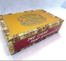 New listing El Roi-Tan Cigar Box American Tobacco Company It's A Girl 10 Cents Flor Fina Vtg