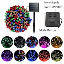 LED String Lights Garden Decoration Outdoor Solar Garland Christmas Fairy Light