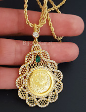 Tugra Kette Goldkette Münze 22 KGP Altin Kaplama Cumhuriyet Osmanli Taki Gelin