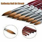 Kolinsky Acrylic Nail Art Brush Manicure Powder Wood Handle Supply Tools Pro
